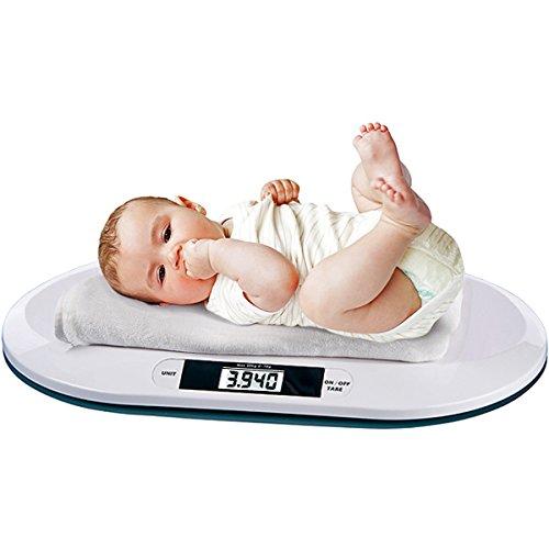 Digitale Babywaage bis 20kg - Stillwaage Kinderwaage Tierwaage
