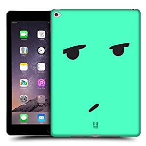Head Case Designs Bored Emoticon Kawaii Edition Protective Snap-on Hard Back Case Cover for Apple iPad Air 2