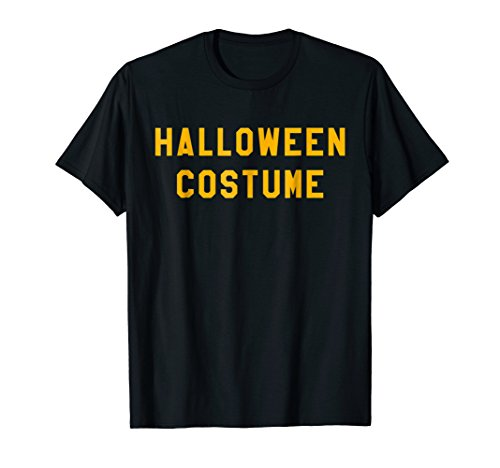 Mens Halloween Costume T Shirt Last Minute Halloween