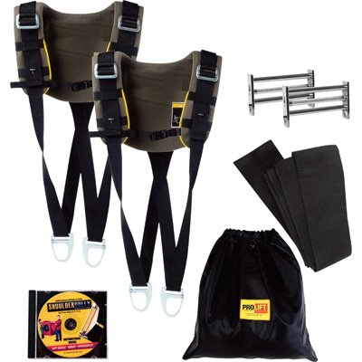 Pro Lift Shoulder Dolly Moving Strap System - Dual Harness, 1000Lb. Capacity, Model# 3500 HD