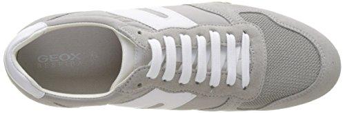 Geox Snake Femme A Sneakers Basses Greyc1010 lt Gris D zzw1ZrA