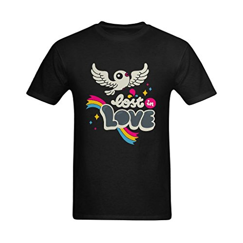 vecistry-mens-lost-in-love-t-shirt-size-medium