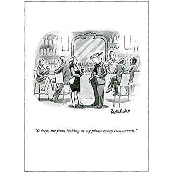 Amazon keeps me from looking at my phone humour funny greeting keeps me from looking at my phone humour funny greeting card by new yorker m4hsunfo