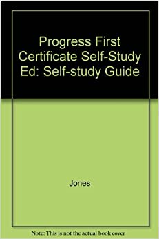 Book Progress First Certificate Self-Study Ed: Self-study Guide