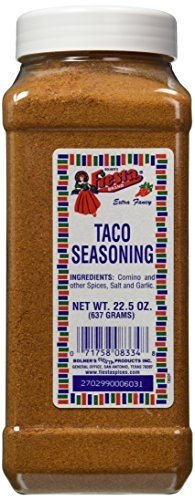 Bolner's Fiesta Extra Fancy Taco Seasoning, 22.5 Oz.
