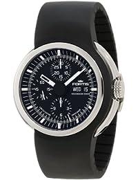 Fortis Men's 661.20.31 K Spaceleader Automatic Black Dial Watch