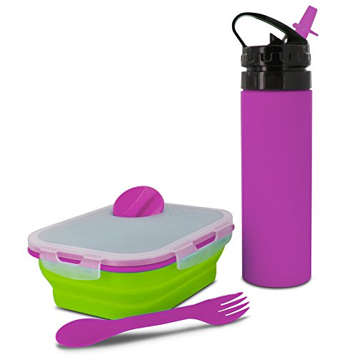 Price comparison product image Smart Planet Combo Pack Meal Kit with Water Bottle