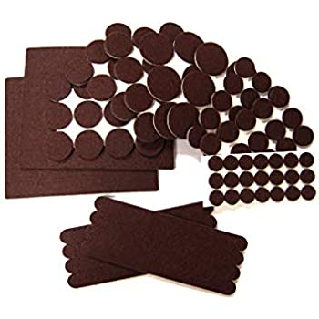 Fitfabhome Premium Furniture Felt Pads 109 Pack To Fit