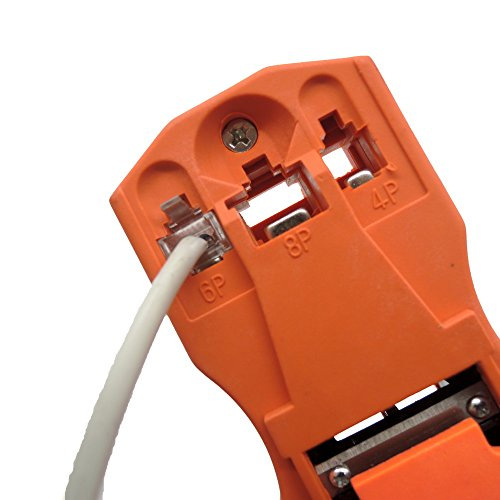 (Crimp - Network Stripper Wire Cutter Crimping Stripping Cable Crimper Repair - Crimper Eyelets Iton Pads Plier Butt Hair Jewerly Hose Terminals Free Solder Pins Stainless Rings Brush Connect)