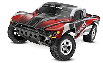 Traxxas 1/10 Slash 2WD RTR with 2.4GHz Radio (No Battery), Red