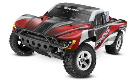 Traxxas 1 10 Slash 2WD RTR with 2.4GHz Radio (No Battery) - Red