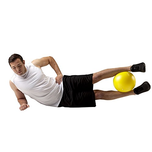 Small Squishy Exercise Ball : TheraBand Mini Ball, Small Exercise Ball for Abdominal Workouts, Strengthening Core Exercises ...