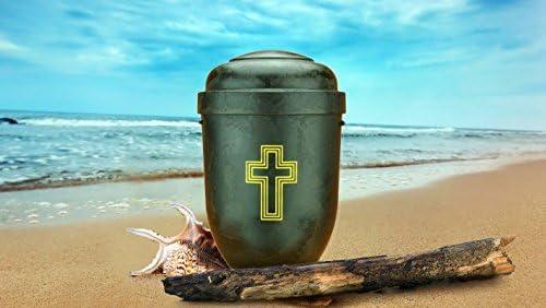 Biodegradable cenizas urna - tamaño adulto - respetuoso del medio ...