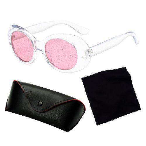 De Moda Brillantes Calle De Persianas Clásica De Brillantes Lentes Retro Sol Cristal Gafas Completa UV400 Ovales Estilo Protección C4 La De Gafas Nuevas De Unisex De Diseño UaPnw