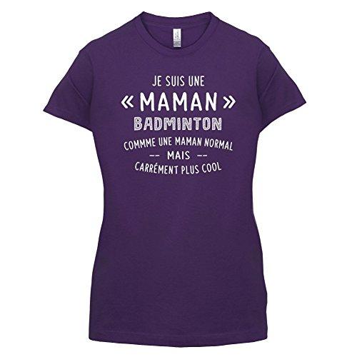 une maman normal badminton - Femme T-Shirt - Violet - M