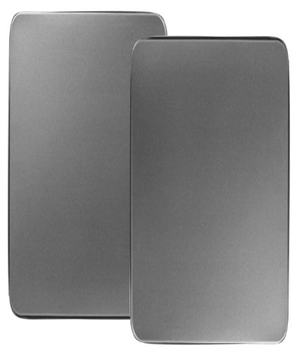 Reston Lloyd R880S Rectangular Burner Cover, Stainless Steel, Set of 2, Look