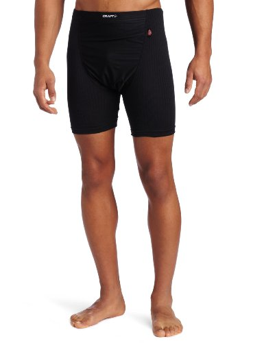 Cheap Craft Sportswear Men's Active Wind Stopper Base Layer Gunde Short, Black, X-Large