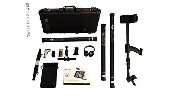 TERO VIDO PRO Version 3D System Metal Detector - Professional Deep Seeking Detector - Underground Depth Scanner - Gold, Silver, Coins, Jewelry, Cavity, ...