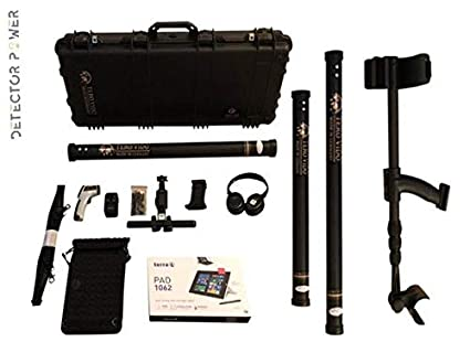 TERO VIDO PRO Version 3D System Metal Detector - Professional Deep Seeking Detector - Underground Depth