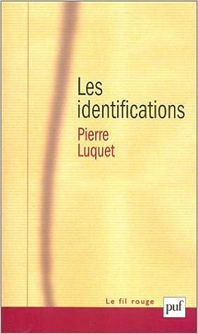 Livre gratuits en ligne Les Identifications pdf epub