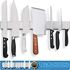 Magnetic Knife Strip for Refrigerator