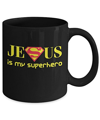 Karent Sorent Jesus Is My Superhero Funny Coffee Mugs, Gift Dad for  Father's day Daddy, Gift Idea for Women and Mother, Father's Day, Mother's  day,