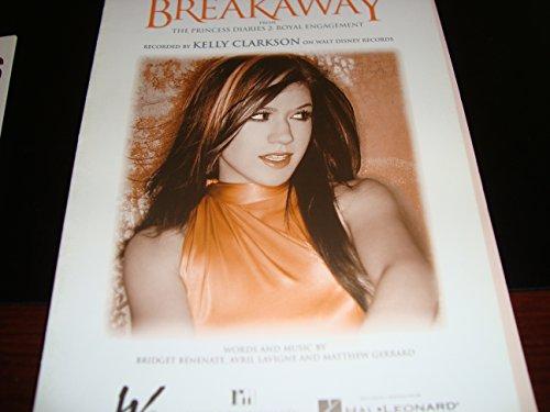 Kelly Clarkson : Breakaway (Piano - Music Sheet Breakaway Clarkson Kelly