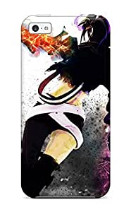 linJUN FENGHot Snap-on Boots Black Rock Shooter Back Firebeltss Armor Twintails Shorts Insane Black Rock Shooter Swordsornaments Hard Cover Case/ Protective Case For iphone 4/4s