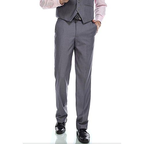 CMDC Mens Banquet Wedding Groom Dress Suit Pants D274