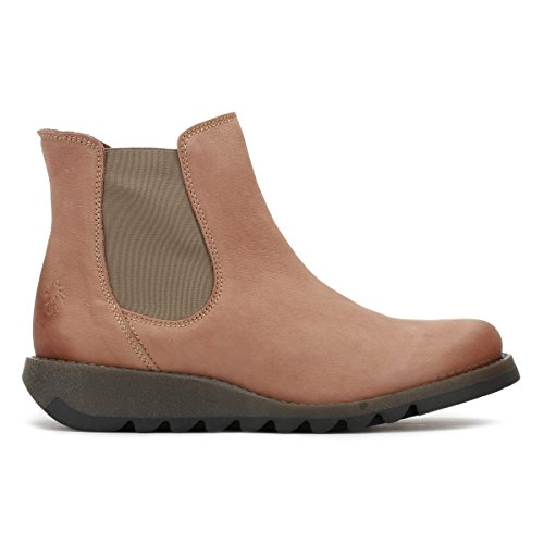 Cuero Cupido Mujer Fly Salv Botas Rose London XvaxqZxwg