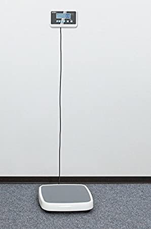 Balanza pesapersonas de suelo (transitable) profesional [Kern MPC 250K100M] con aprobación de homologación y médica, Campo de pesaje [Max]: 250 kg, ...