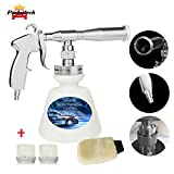 Fochutech High Pressure Car Cleaning Gun, Car Wash Kit - Upgraded Car Interior Cleaner Detailing Wash Gun with 1L Foam Bottle,Wash Spray Bottle Nozzle with Cleaning Brush (US Edition)