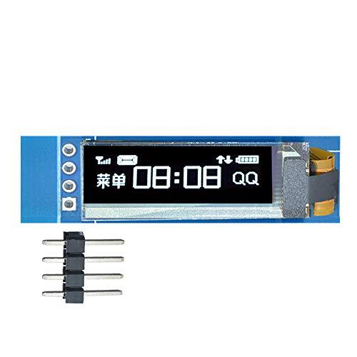 Diymore 0.91'' 128x32 IIC I2C 3.3V 5V White OLED LCD Display DIY Module for PIC Arduino