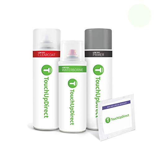 TouchUpDirect for Hyundai Exact Match Automotive Touch Up Paint - Noble White (NW)