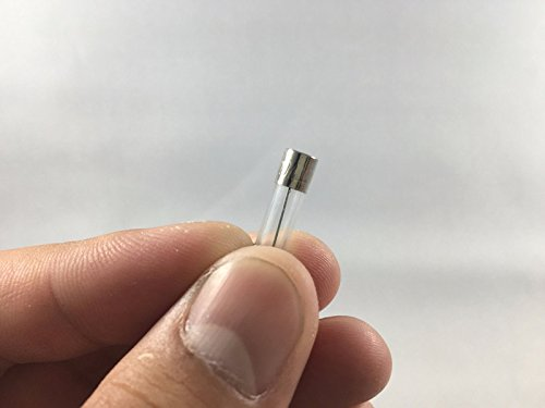 3//16 in x 3//4 in CompStudio Pack of 10 Fast Blow Fuse 8 Amp 250V Glass Fuse F8AL250V 5X20 mm
