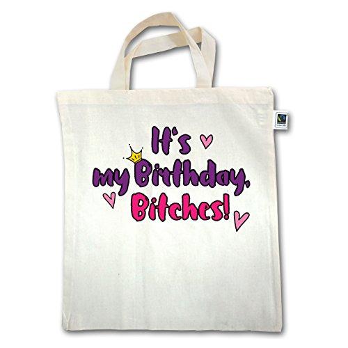 Compleanno - È Il Mio Compleanno, Bitches - Unisize - Natural - Xt500 - Manico Corto In Juta