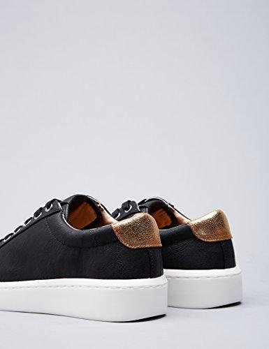 Basses black Compensées Femme Semelles Sneakers Noir Find Bpqf5Swn