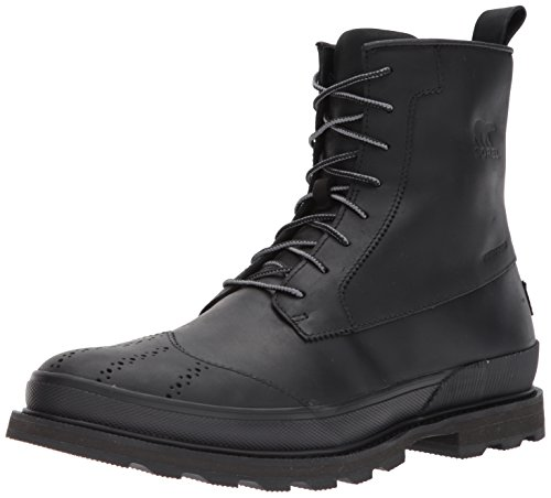 Sorel Mens Madson Wingtip Waterproof Oxford Boot Zwart