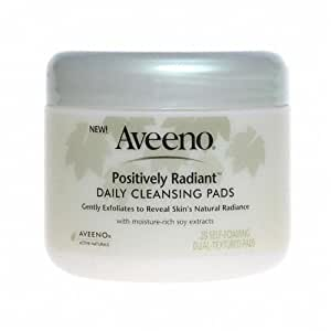 Aveeno Positively Radiant Cleansing Pads 28 piece