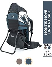 MONTIS MOVE, back carrier, child carrier up to 25 kg, 2180 g, BLUE