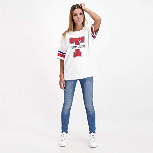 Jeans Tommy En Logo Coton Bio À Haut gxqwxP