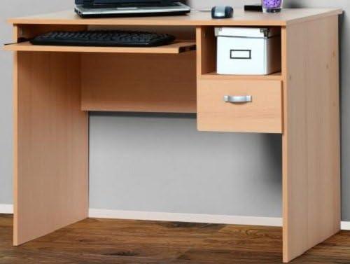 2201 PC-Tisch Computertisch Buche Sch/ülerschreibtisch Buche