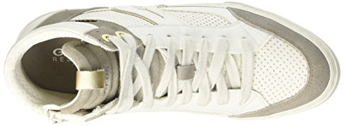 Geox D New Club A - Zapatillas de deporte Mujer Blanco - blanco