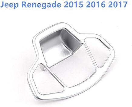 High Flying Für Jp Renegade 2015 2019 Interieur Mittelkonsole Handbremse Taste Interieurleisten 1 Stück Abs Kunststoff Matt Auto