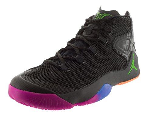 [827176-030] Air Jordan Melo M12 Mens Sneakers Air Jordanblack / Grn Gst Mtlc 030-nero / Grn Gst Mtlc