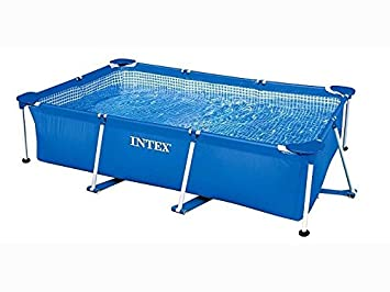 intex 58983fr piscine tubulaire rectangle 2m20 x 1m50 x 60 cm