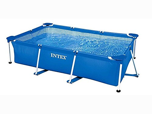 Intex Rectangular Frame Pool 87'' x 59'' x 24'' by INTEX