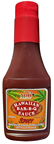 NOH Foods of Hawaii Spicy Hawaiian Bar-B-Q Sauce, 14.5 Ounce