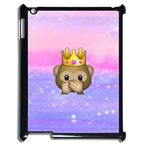 kimcase Custom monkey emoji Case Cover for iPad2,3,4