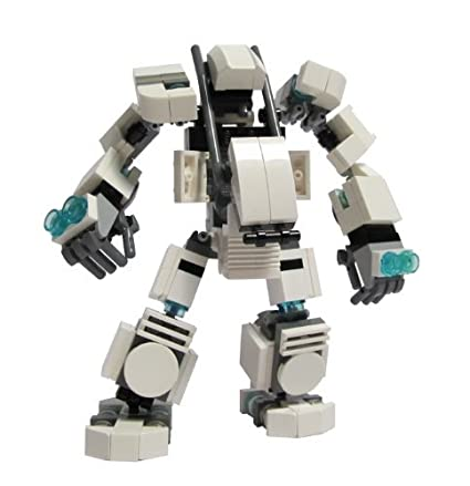Amazon Custom Lego Mech Hard Suit Kit Toys Games